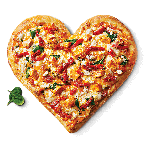pizza heart Home